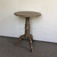 oak furniture french style small round cafe table