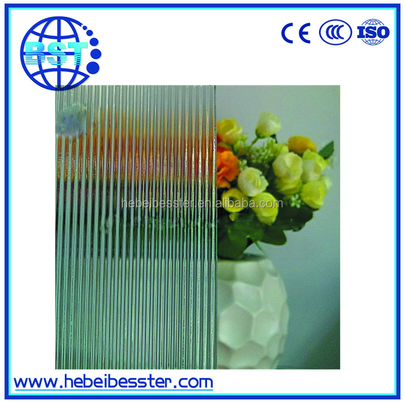 2mm 3mm 4mm 5mm 6mm clear pattern glass figure rolled glass