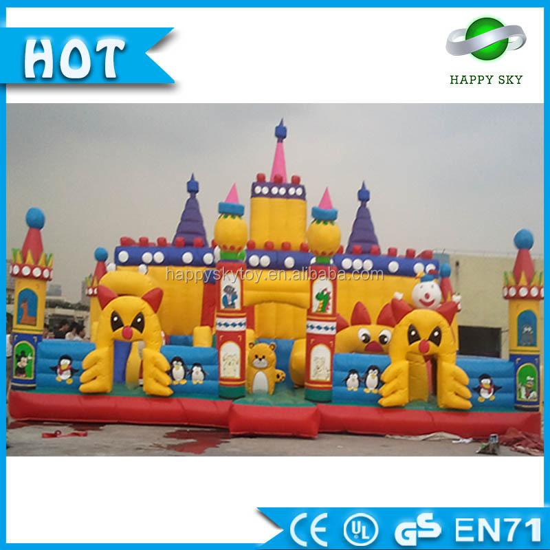 Inflatable Fun City Victoria Park