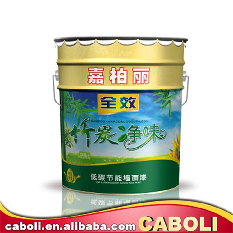 Caboli colourful acrylic color paint interior protection