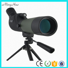 Minghao 20-60x60 AE Waterproof Angled Spotting Scope with Tripod 45-Degree Angled Eyepiece Optics Zoom Spotting Scope