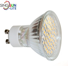 Epistar smd led spotlight high lumen led gu10 spot light smd 3w gu10 24v led spot light