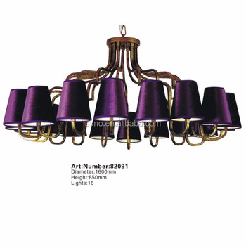 Italian 18 lamps purple lampshades chandeliers in dubai buy italian 18 lamps purple lampshades chandeliers in dubai aloadofball Image collections