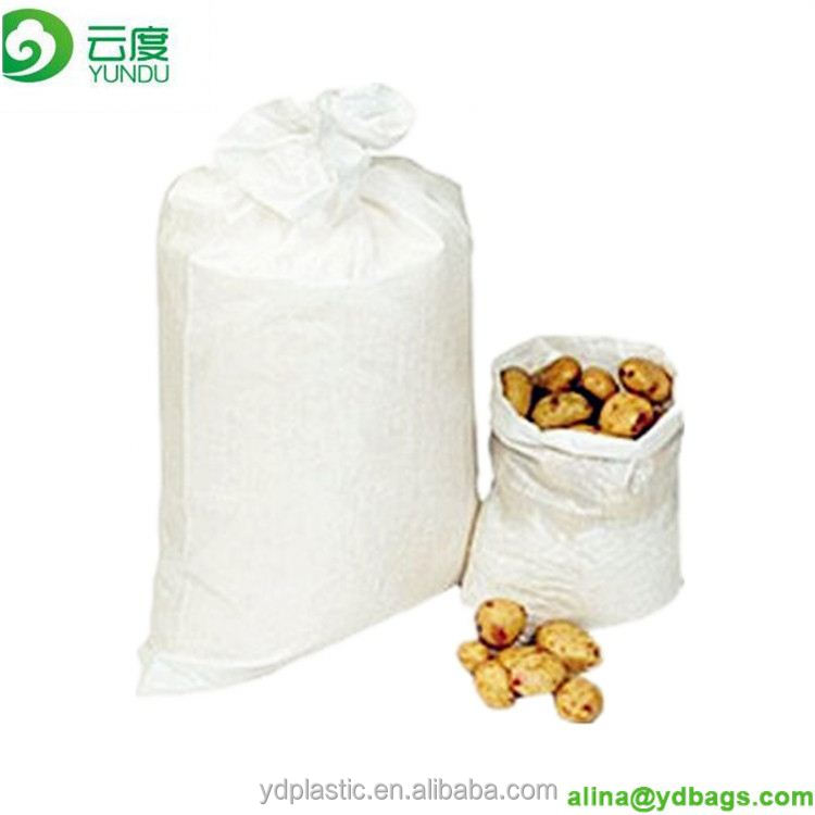 Hot sale polypropylene woven 50lb feed bags with liner bag