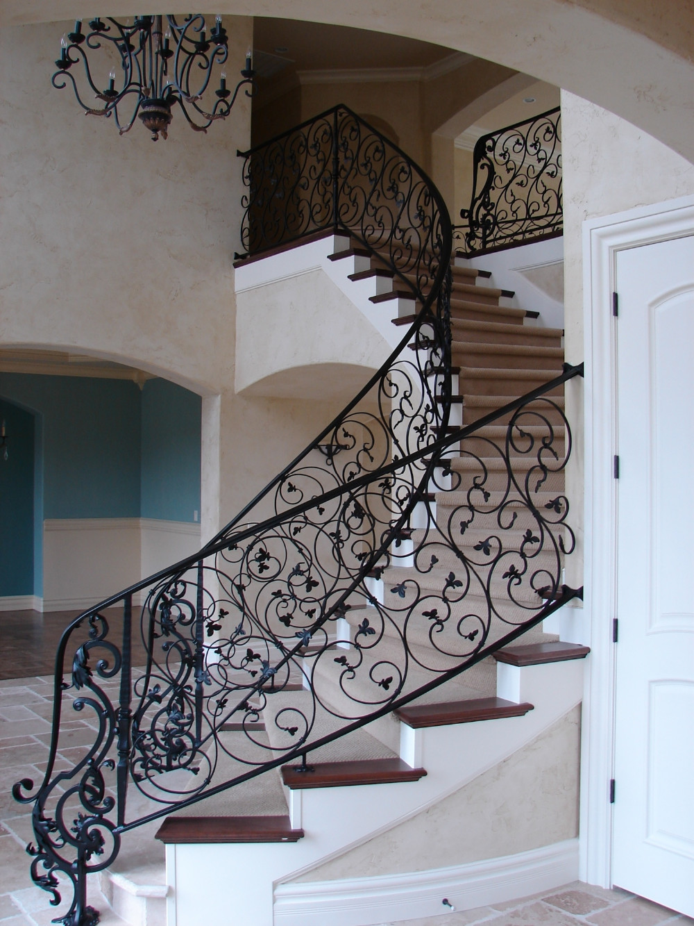 Stair Fittings Wrought Iron Railing Spindles Stair