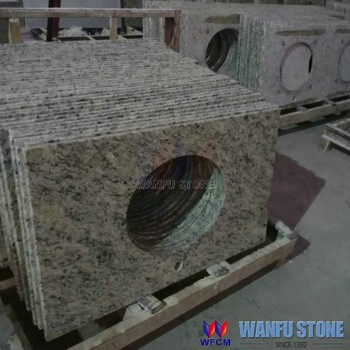 Fantasy Granite 49x19 Cheap Price Vanity Top With Sink