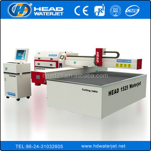 water jet float glass cut machine for cutting glass water jet