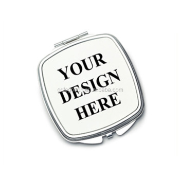 Types of Pocket Size Mirror Free Design Logo Metal Custom Pocket Mirror