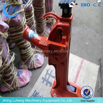 10T 15T 20T Mechanical Rack Track Jackssmall Lifting Jacks