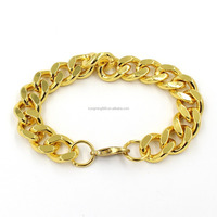 Personal 18K Gold Color Jewelry Metal Bangle Bracelet Wholesale