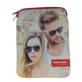 Newest fashion custom cute kind girl 12 inch full colour sublimation neoprene computer laptop sleeve bag