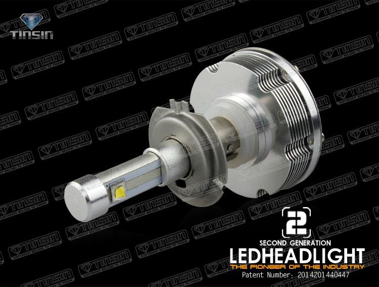 Hot !!car Led Headlamps Auto Led Light Eti Led Headlight Bulb H7 ...