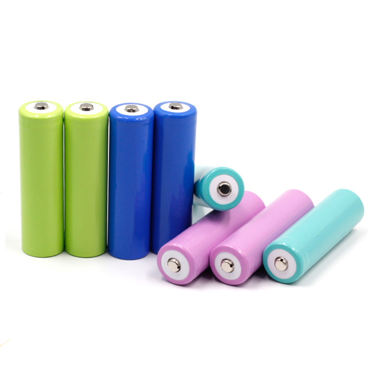 Button Top rechargeable lithium icr18650 2000mah battery cell