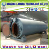 The Production Line for Recycling Waste Tire/Rubber/Plastic to crude oil Directly