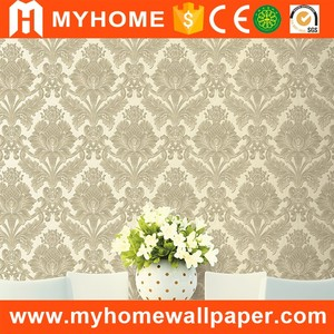 Decorative wall paper home decoration jazz wallpaper