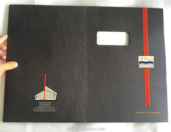 Custom paper services folders