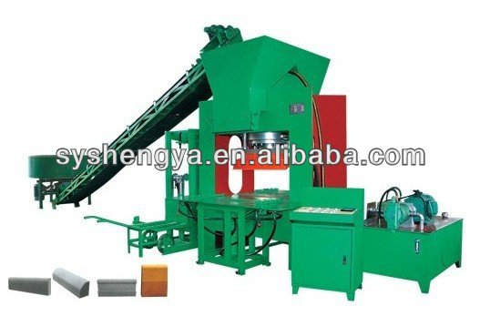 SY3000 automatic hydraulic kurb making machine
