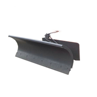 snow plow skid steer attachments snow blades