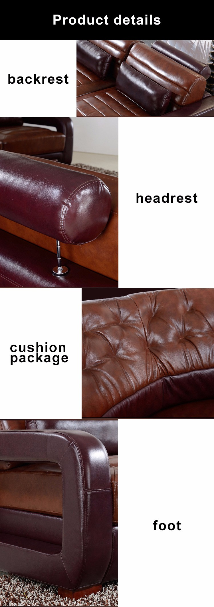 Awesome New Style Armrest Headrest 8 Seater Furniture Couch L Shape U Shape Genuine Leather Sofa Set Modern Buy Sofa Set Modern Genuine Leather Sofa L Shape Short Links Chair Design For Home Short Linksinfo