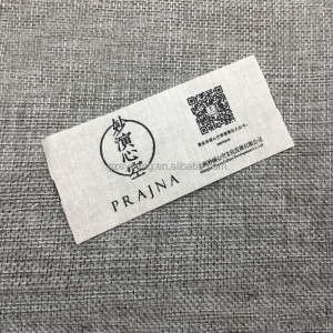Good prices Cotton label for t shirt