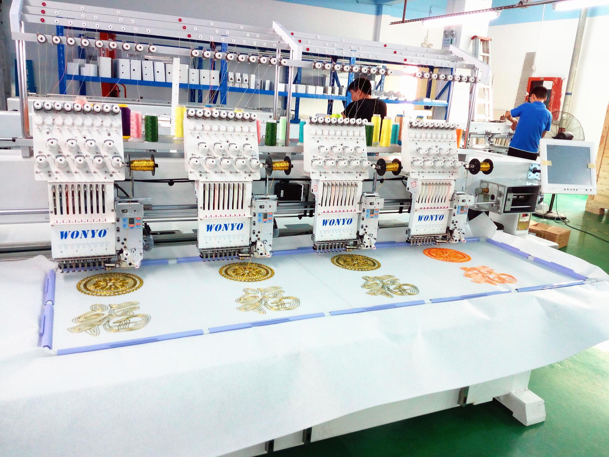 WONYO High speed 4 heads embroidery machine