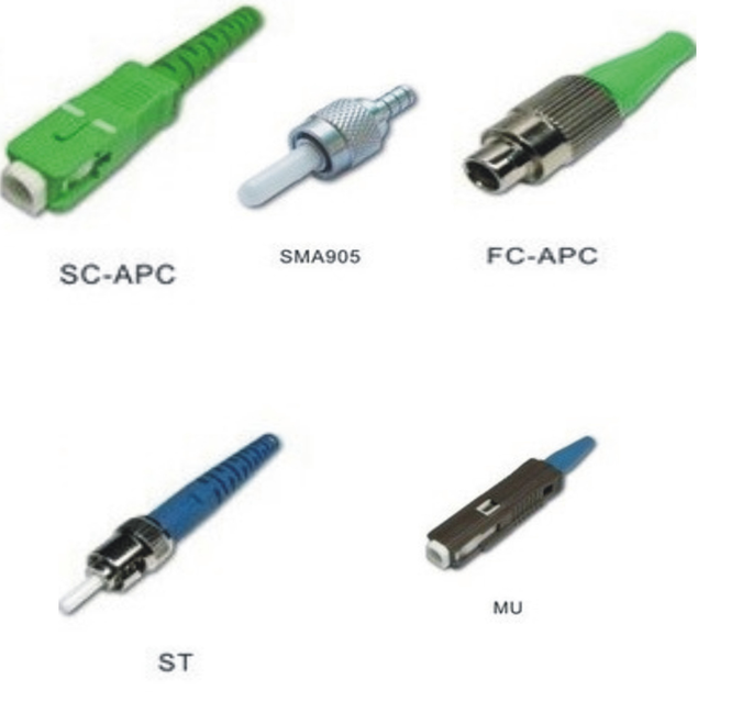 Singlemode simplex SC/ST/LC/FC/MU/SMA905/ fiber optic connector