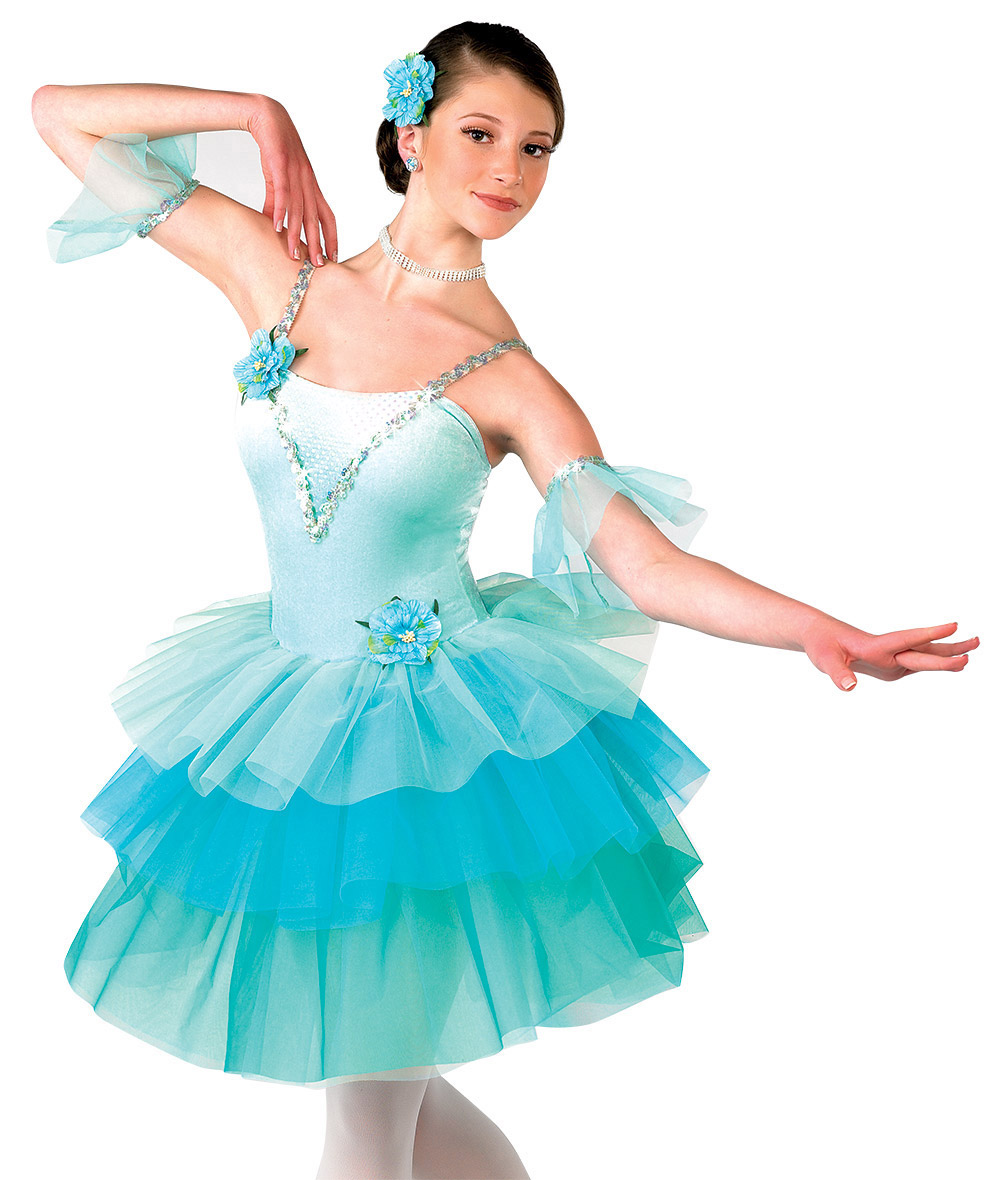 New Design -three color long adult women tutu costumes
