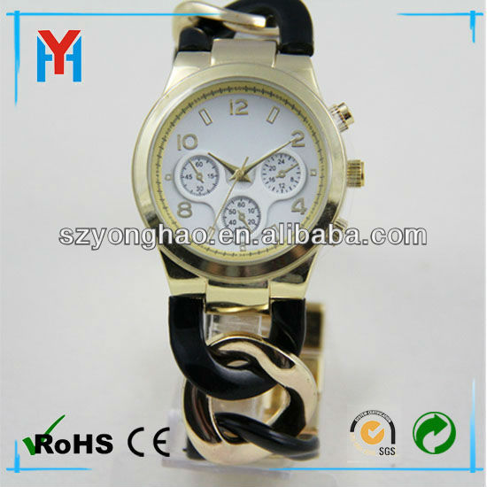 Fashion custom Silicon bracelets Watch for Promotion and Gift Watch Factory in China