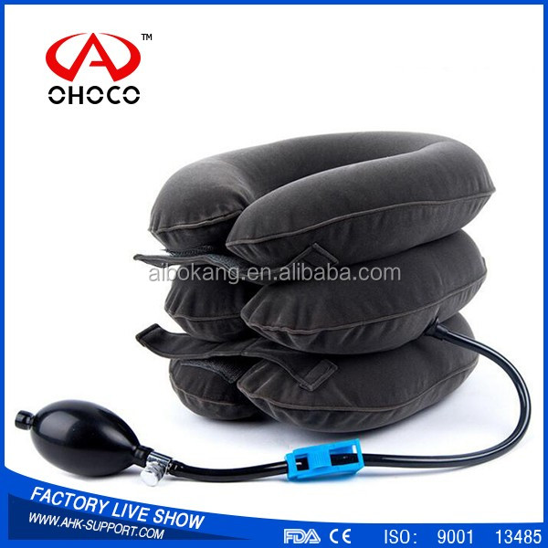 orthopedic relieve pain cervical collar neck strecher traction equipment