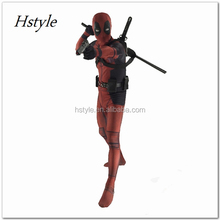 Fictional Character Lycra Suits Deadpool Cosplay Costumes Elastic Lycar Fabric Cheaper Theme Costumes Classic Design HNF031