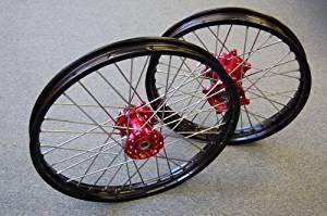 19/'/' Rear CNC Wheel Rim Hub 4 Honda CR 125 250 CRF250 450R 04-12 CRF250 450 X 16