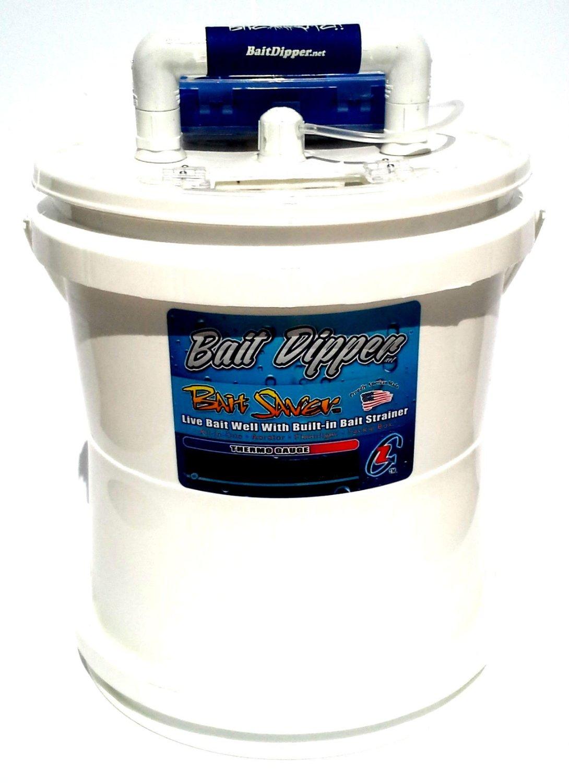Bait Bucket Livewell Aerator Bait Saver