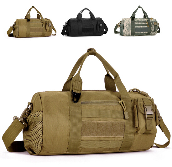 Get Quotations Military Camouflage Drum Bag Men Single Shoulder Messenger Outdoor Sports Gym Leisure Multifunctional Tactical
