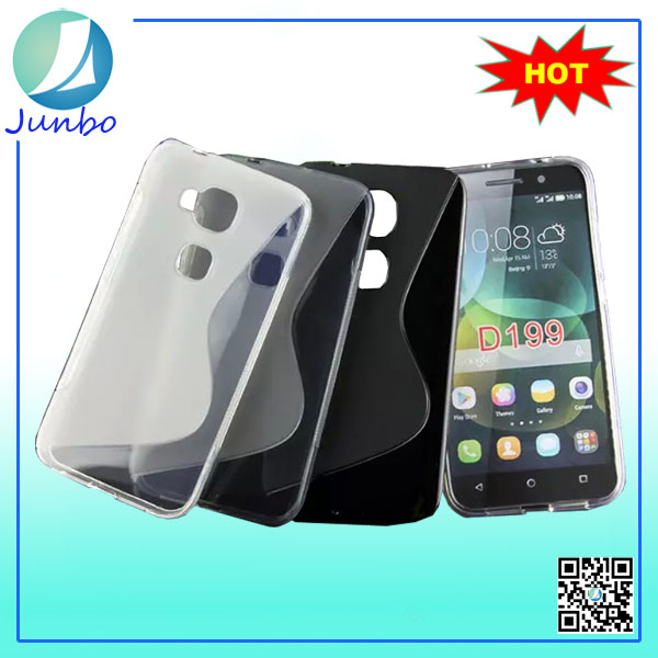 old classical style for Huawei D199 flip cover tpu case for Huawei cell phone