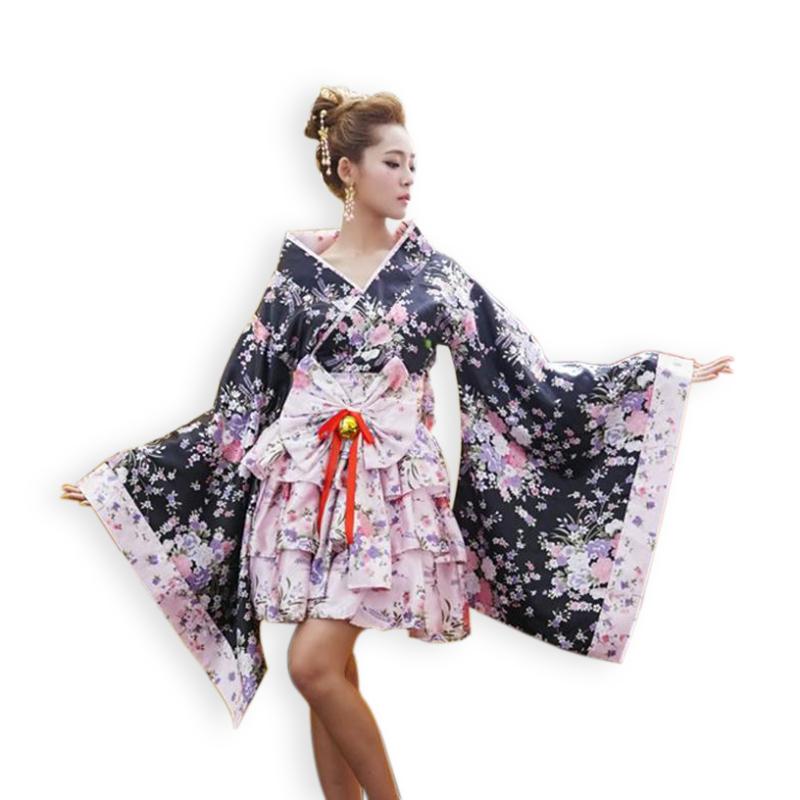 2015 Heavy Sakura Cosplay Anime Outfit Japanese Kimono ...