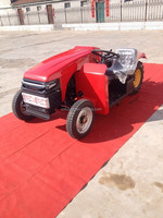 lower and side control systerm cheap lawn garden tractor
