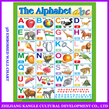 arabic phonic wall hanging chart for kids learning alphabet buy