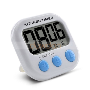 Digital Kitchen Cooking Timer Large LCD Display Countdown Magnetic Loud Timer