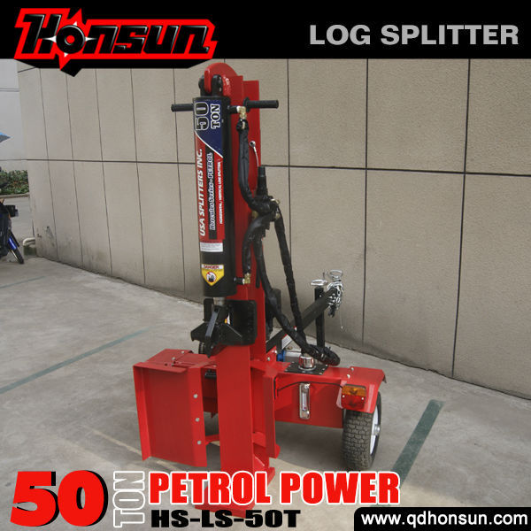 8 years no complaint Honda engine CE approved professional mechanical log splitter 4 way wedge