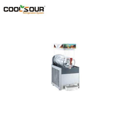 COOLSOUR Eiskaffee Slush Dispenser Slush-Maschine
