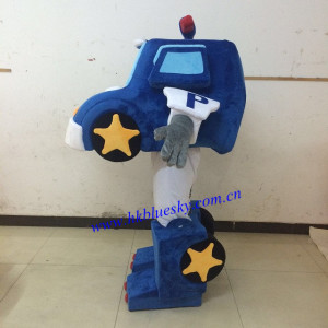 Police car mascot costume custom made car mascot design