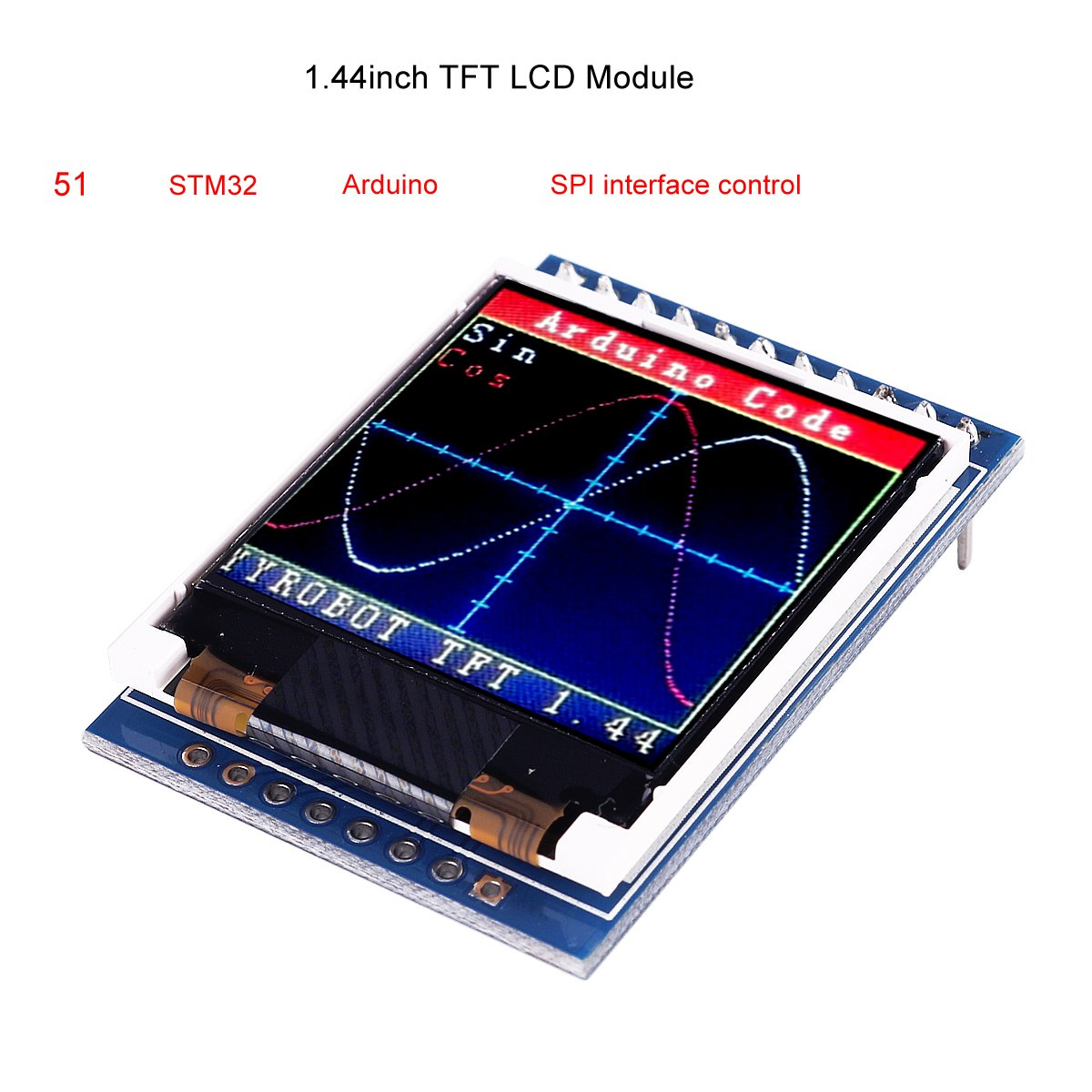 Buy MakerFocus TFT LCD Screen 1 44 inches TFT LCD Module, 128x128