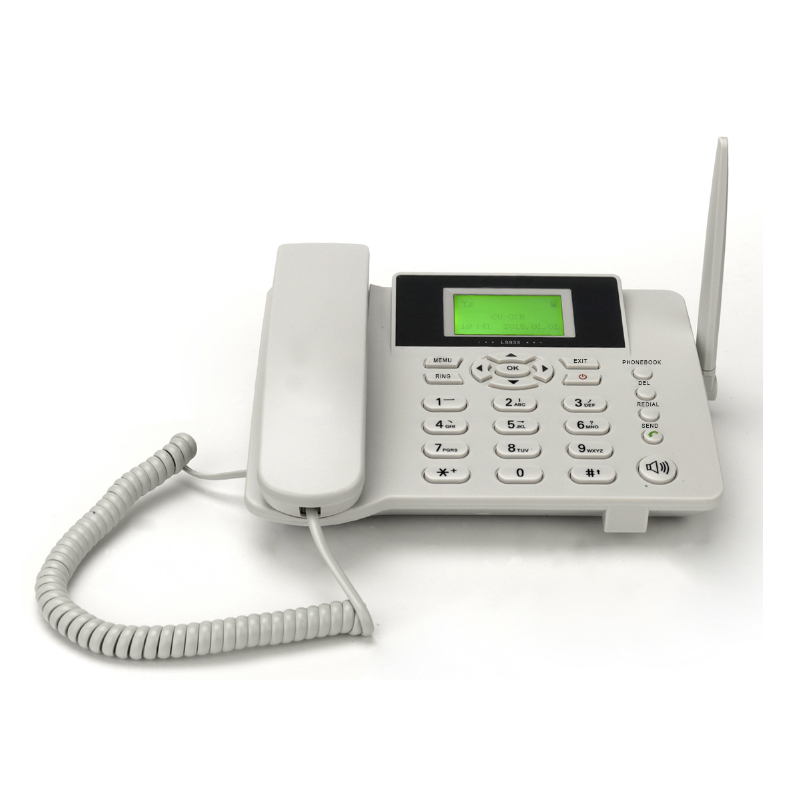 3g 4g Gsm Cordless Wireless Landline Phone With Sim Card Mobile Network Sms  Call Logs Alarm Phonebook Redial Function - Buy 4g Landline,3g Landline