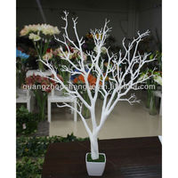 artificial white dry tree branch coral