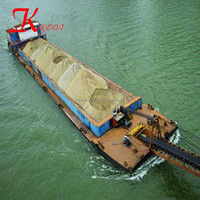 China transport carrier Low Cost Self Propelled River Sand Transport Barge/Transportation Boat