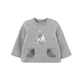 custom wholesale cheap kids boys long sleeve t shirt with 100% cotton