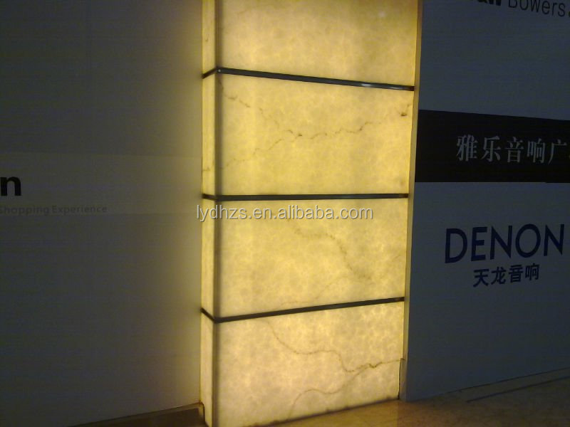 China Yellow Figure Design Marble Acrylic Sheet For Elenget Hotel ...