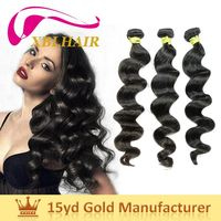 XBL factory strong weft no shedding italian curl weave