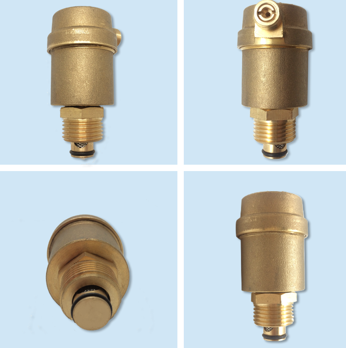 bspt automatic air release quick exhaust valve / brass air vent valve