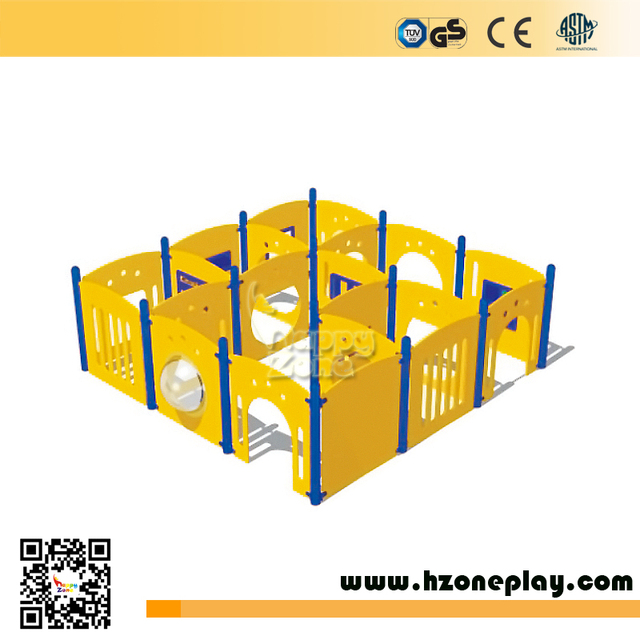 Funny Kids' HDPE maze passage labyrinth Puzzle Games